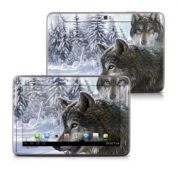 Samsung Galaxy Note 10.1 N8000, N8010 Snow Wolves Skin