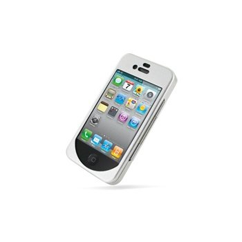 iPhone 4 / 4S Metal Case - Sølv