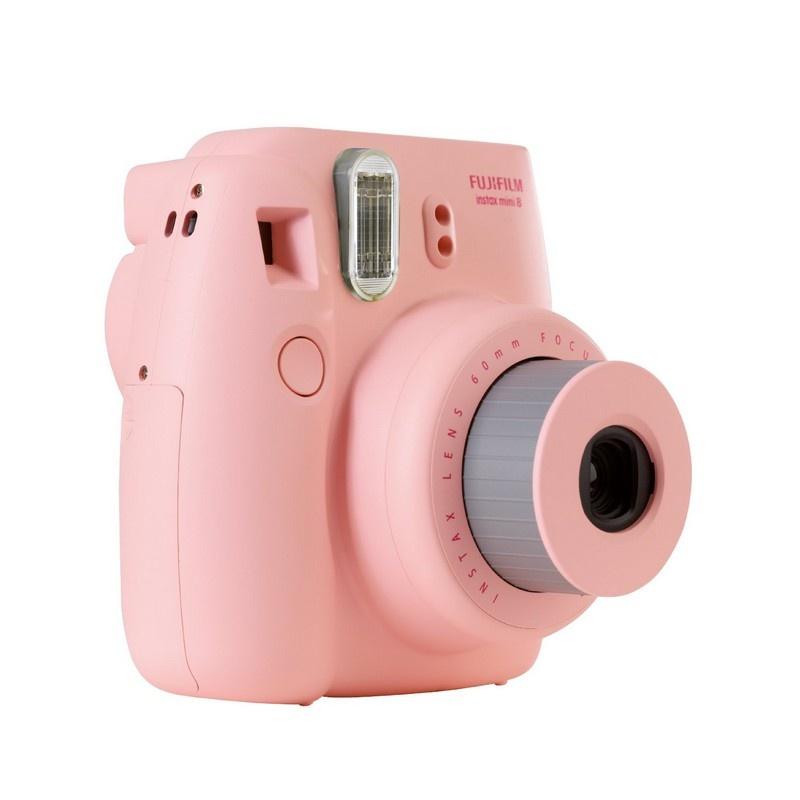 Bestill fujifilm instax mini 8 i rosa farge hos mytrendyphone - Beste polaroid kamera ...