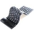 Roll-Up Bluetooth-tastatur - Svart