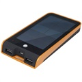 Xtorm Basalt AM118 Solar Eksternt Batteri / Power Bank - Svart / Oransje