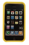 Apple iPhone 3G, 3GS Silicone Case - Gul